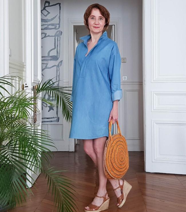 Robe Joan forme liquette - patron Dress Your Body