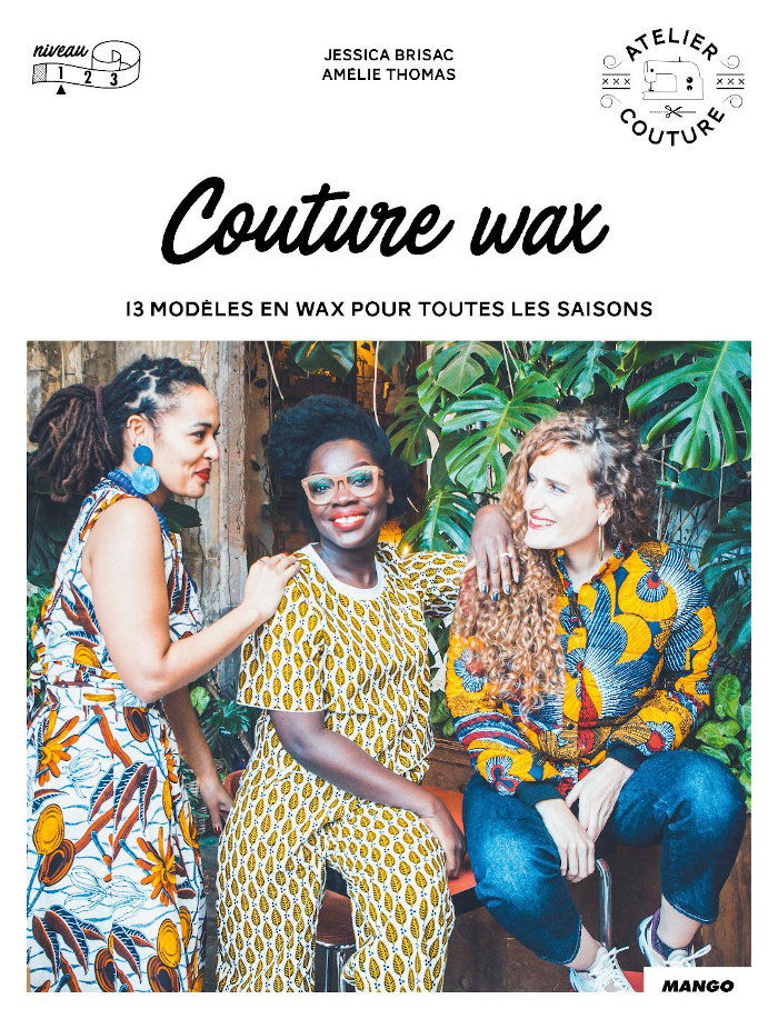 Livre couture Wax - Editions Mango