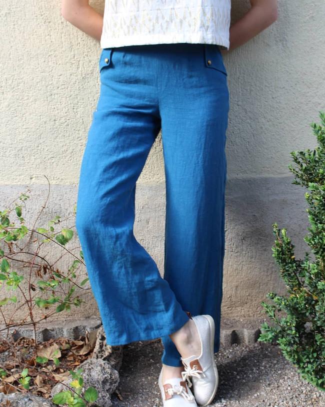 Pantalon Archibald @pawline_sew - patron Roxane Miora (miour Amour)