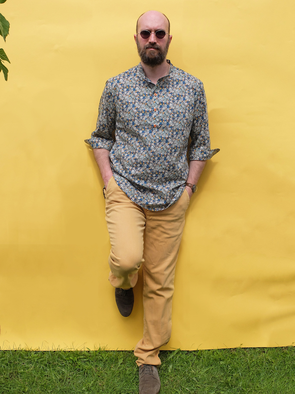 Patron chemise homme Ricard