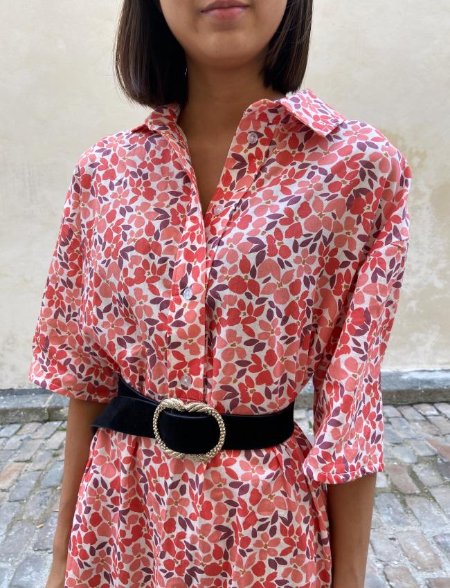 col robe Franca - patron Fibre Mood