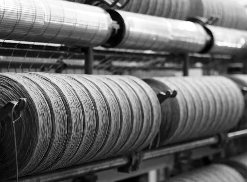 Filature textile française