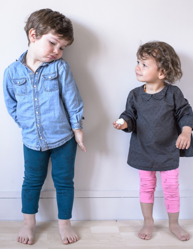 patron Love like Leggings version enfant - Aime comme Marie