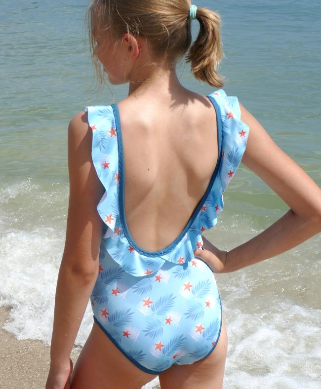 Patron maillot de bain fille 1 pièce Olita - Petits D'om