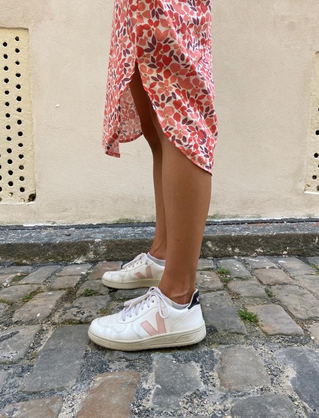 Ourlet bas de la robe Franca - Fibre Mood