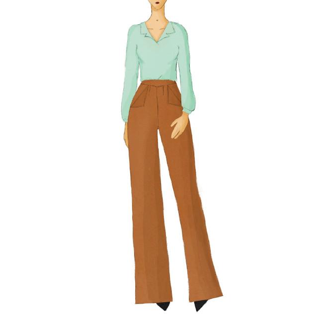 Patron pantalon Archibald - miour Amour