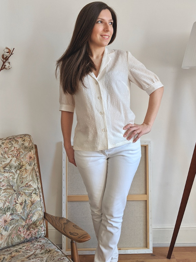 Patron blouse Lucette - Camimade
