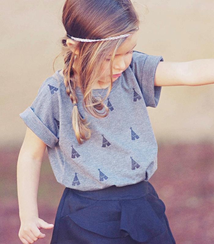 Patron tshirt enfant Trop Top - Ivanne S