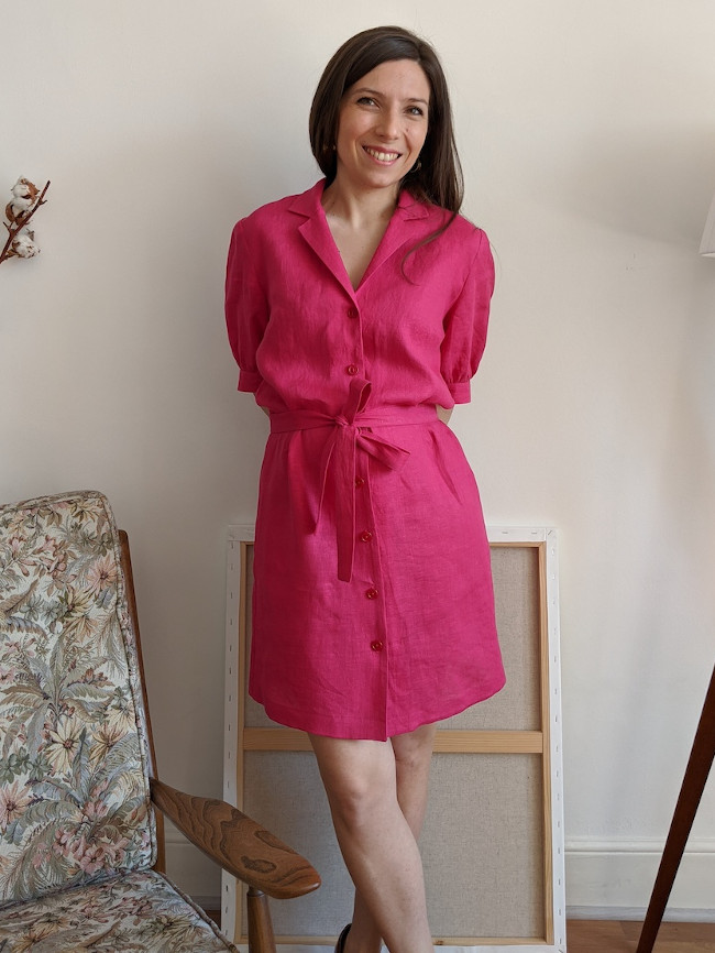 Patron robe Lucette - Camimade