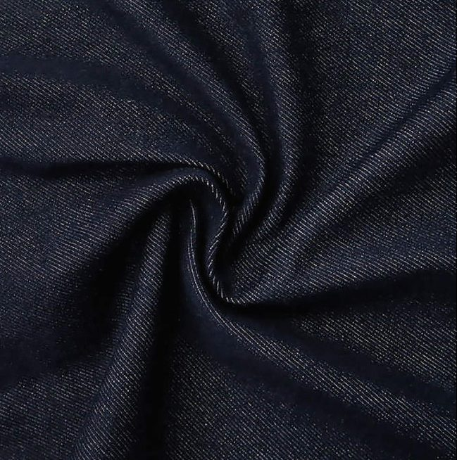 Tissu denim épais coton bio
