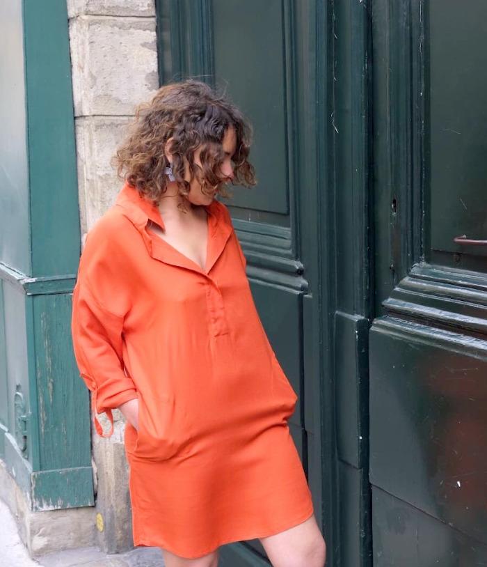 Robe Joan - patron Dress Your Body testé par @tina_biard