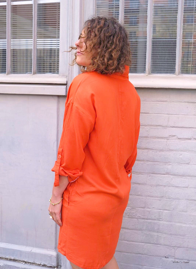 Test de la robe Joan par Tina Biard