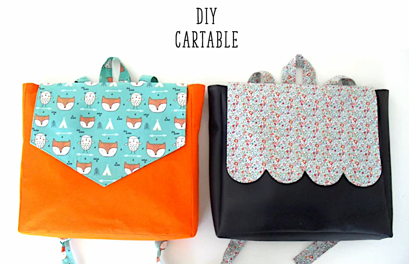 Tuto cartable maternelle - Lucatine couture