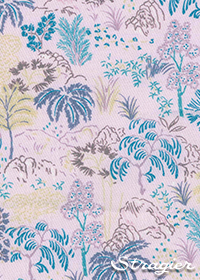 Tissu Mahonia Bambou - Stragier - collection UNE