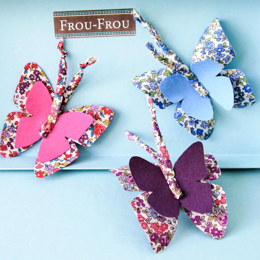 Tuto papillons Frou-Frou
