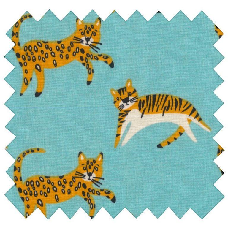 Tissu coton léopards - Papa Pique et Maman Coud