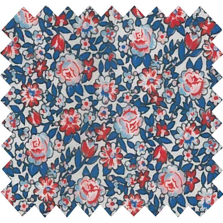 Tissu coton London fleuri -