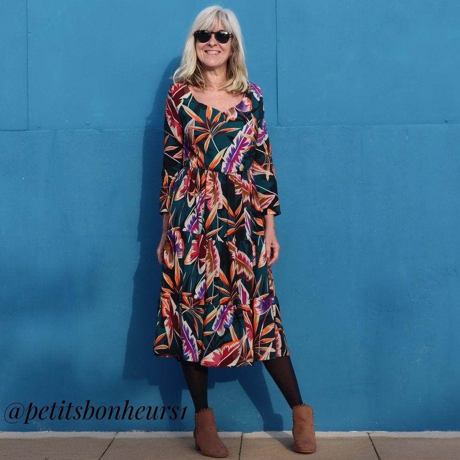 Patron robe Gilda - Petits Bonheurs
