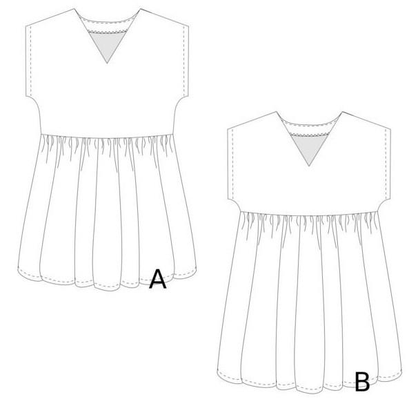 Robe tunique Eole - L'Usine à Bulle