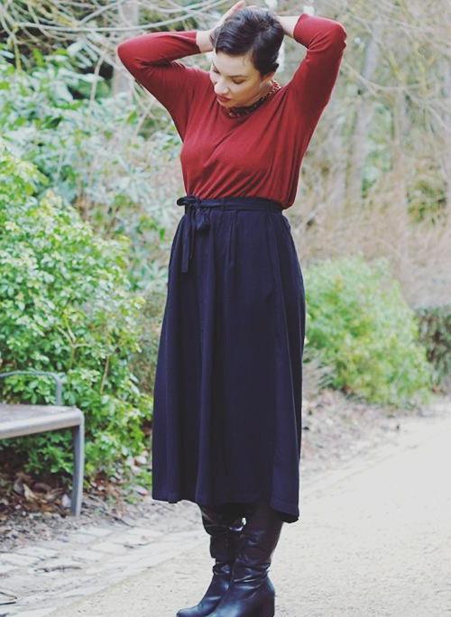 jupe-culotte botanic - @annouchk