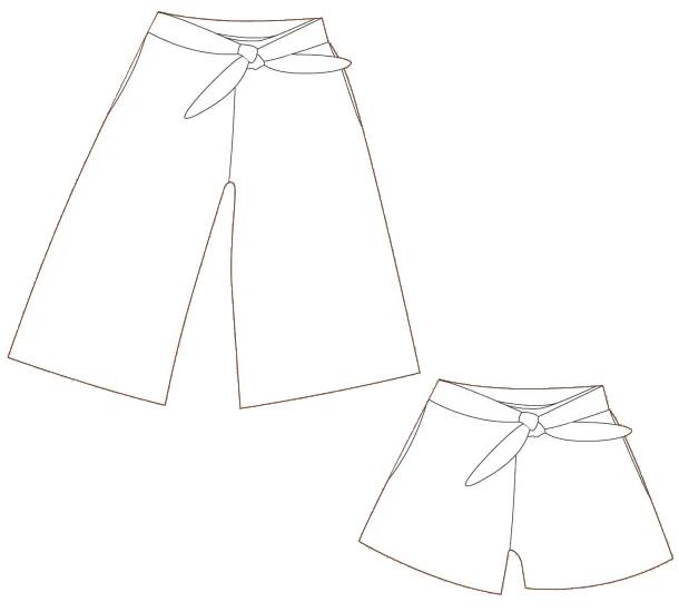 Patron Clara Culotte - WISJ designs