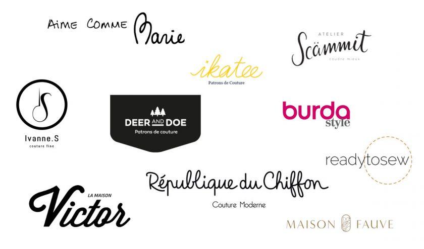 Marques patrons couture préférées