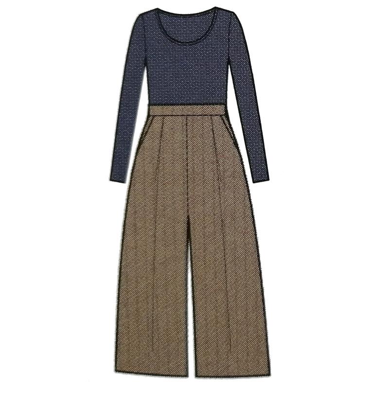 Patron jupe-culotte Dressed