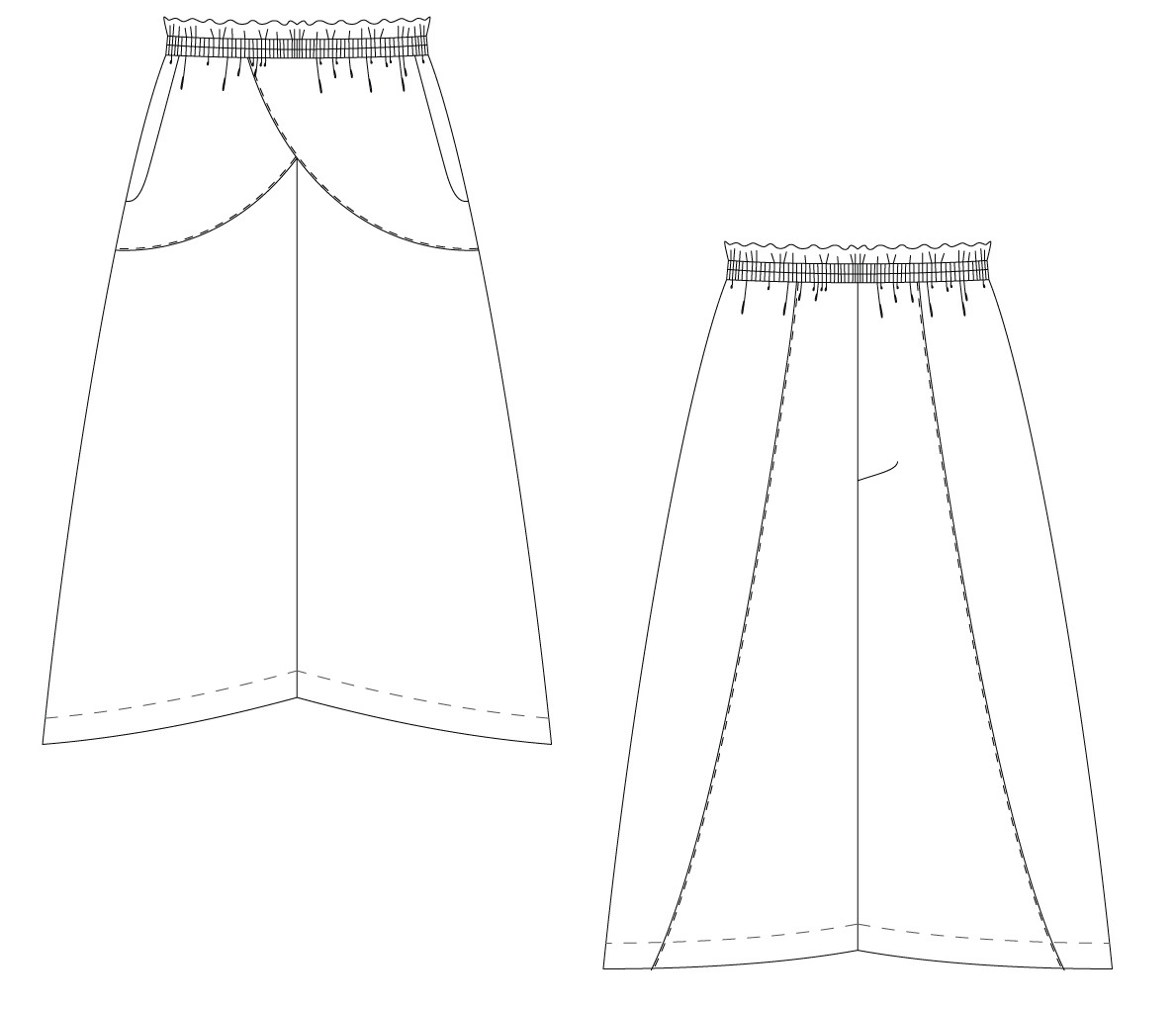 Jupe-culotte Joanne - Ready to Sew