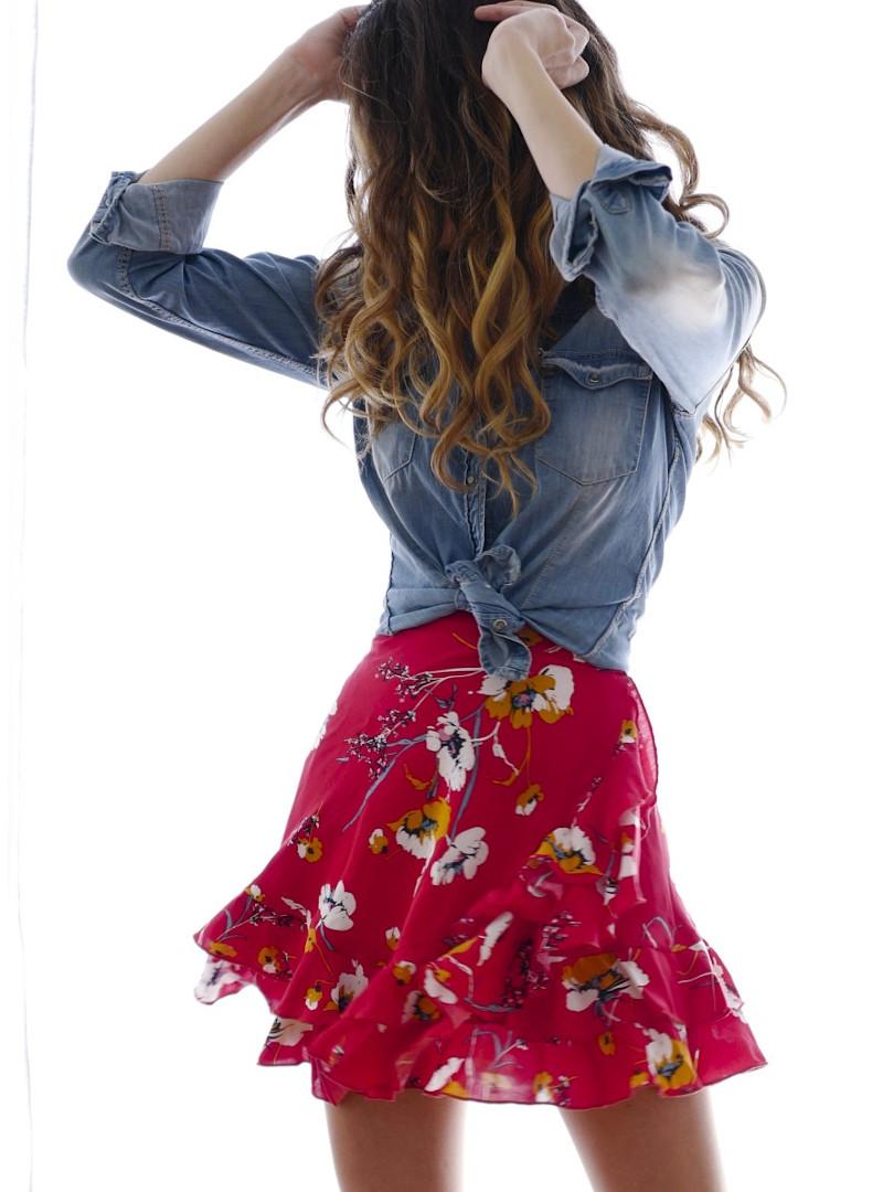 jupe mini-boheme - Vanessa Pouzet