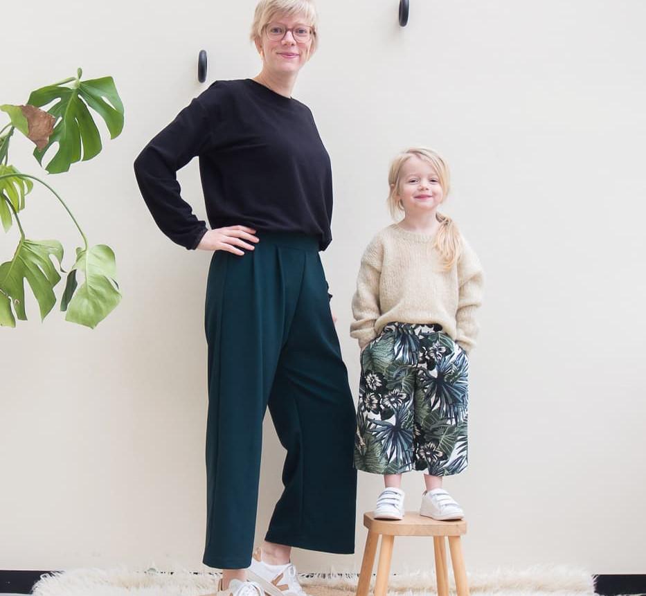 Patron clara culotte de WISJ design