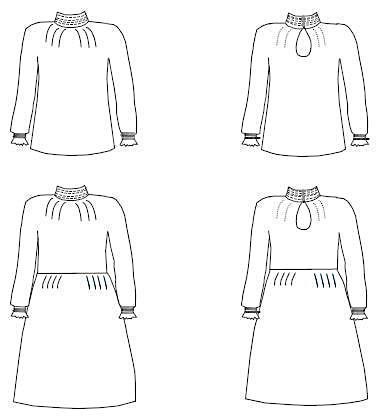Patron robe Manon - Ma Petite Fabrique