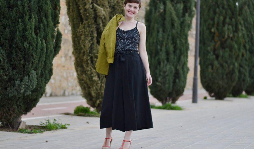 Comment porter la jupe-culotte ?
