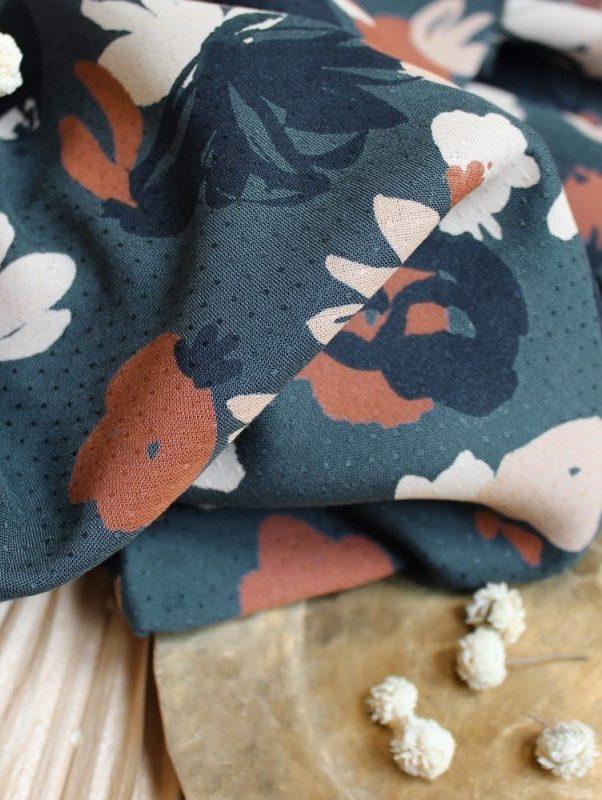 Tissu Posie Smokey Atelier Brunette