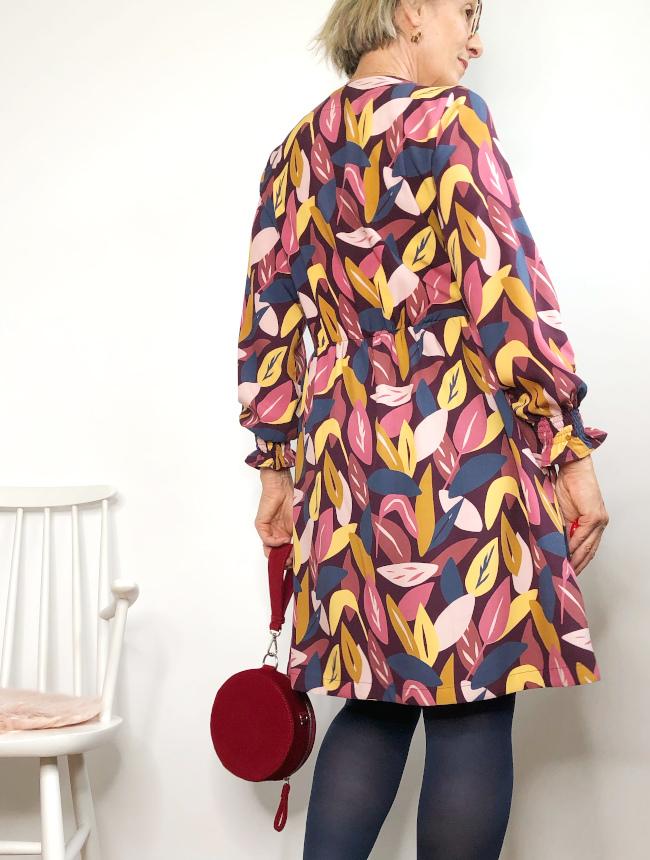 Dos de la robe Croisette par Carole @lamaisonsixchouettes