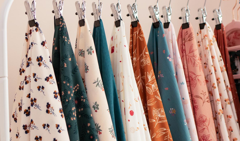 Collection de tissus Lise Tailor winter 2020