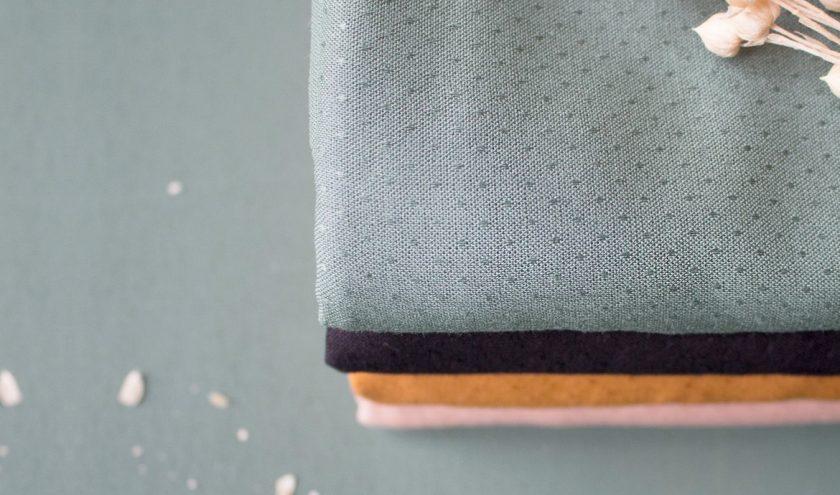 Nouveaux coloris de viscose Dobby Atelier Brunette