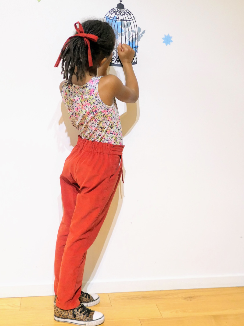 Pantalon Aura de Rose des Vents par Astou
