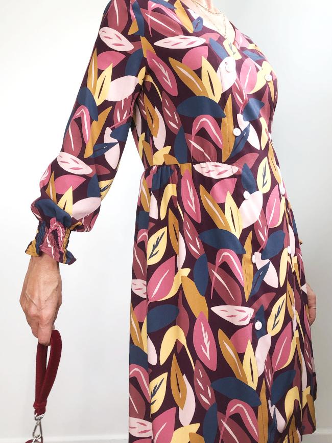 Robe Croisette - Carole @lamaisonsixchouettes