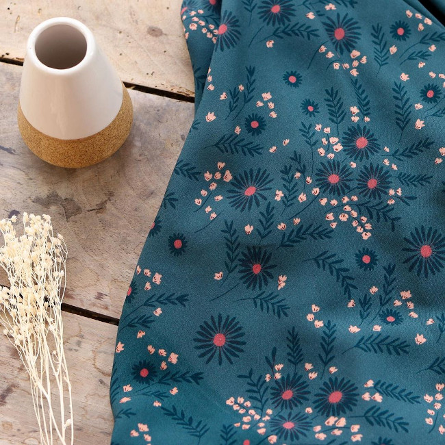 Viscose Daisy Hiver - Lise Tailor