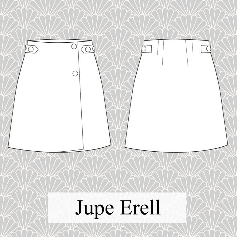 Patron jupe Erell - Pretty Mercerie
