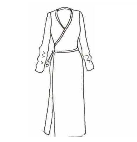 Patron robe Ludmilla - Maison Fauve
