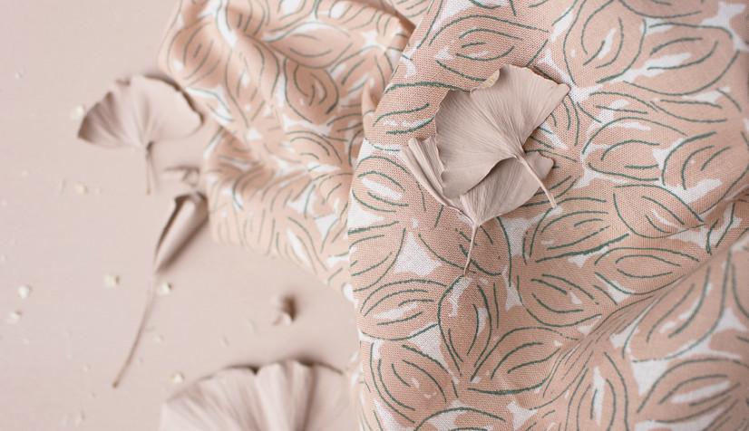 Gaze de coton Petal maple - Atelier Brunette