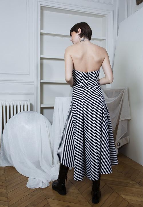 Patron robe bustier 913 - DP Studio