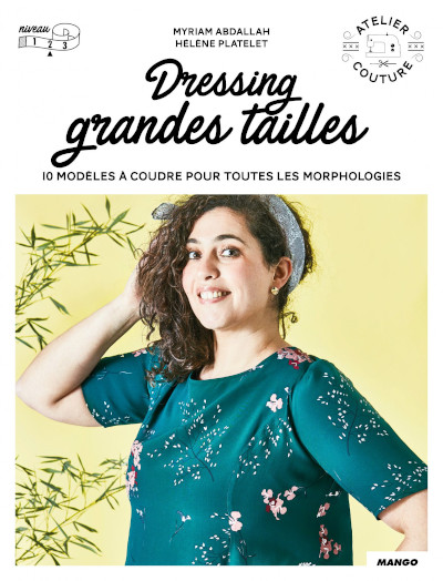 Livre couture Dressing grandes tailles - Mango Editions