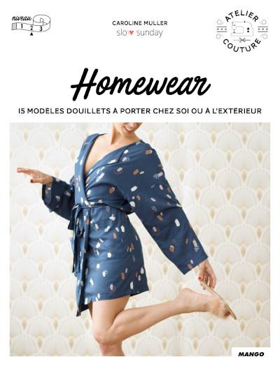 Livre couture homewear - Mango Editions