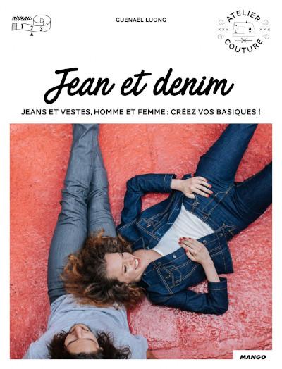 Livre couture jean et denim - Mango Editions