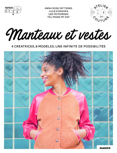 Livre couture Manteaux et Vestes - Mango Editions