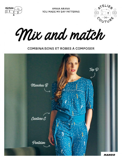 Livre couture Mix and Match - Mango Editions