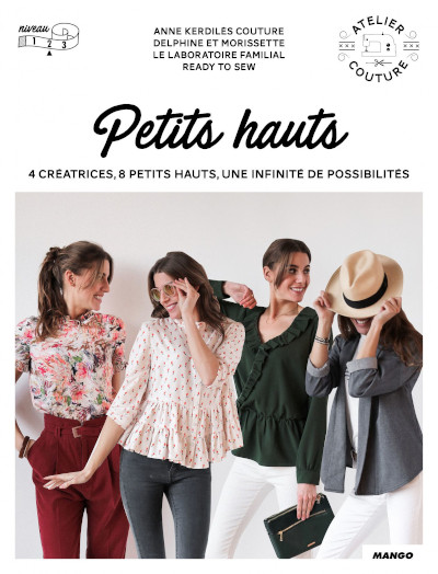 Livre couture Petits Hauts - Mango Editions