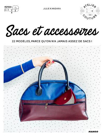 Livre couture sacs et accessoires - Mango Editions
